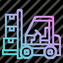 cargo, forklift, freight, load, parcel