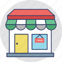 market, sale, shop, shopping center, storefront icon