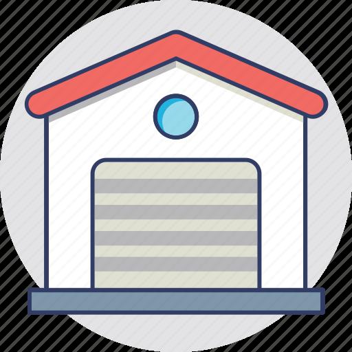 godown, storage unit, store, storehouse, warehouse icon