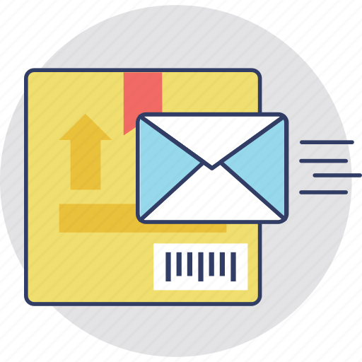 express mail, mail service, post package, postal service icon