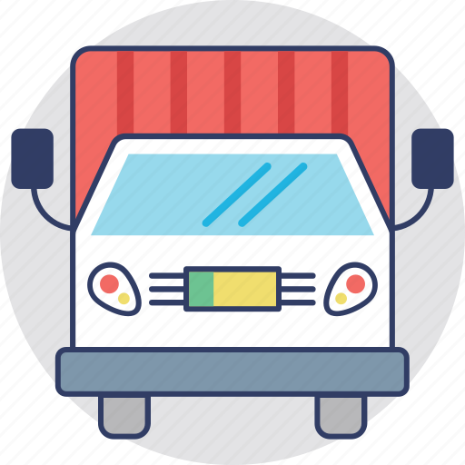 Cargo, delivery van, shipment, shipping truck, transport icon - Download on Iconfinder