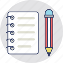 document, sheet, task, text sheet, writing icon