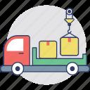 cargo truck, delivery car, pickup truck, shipping van, utility van