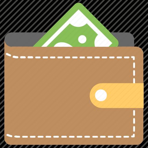 fashion accessory, money wallet, pocketbook, purse, wallet icon