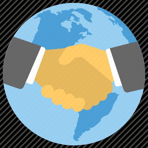 global business, global business deal, global business partner, international business, world business shakehand icon