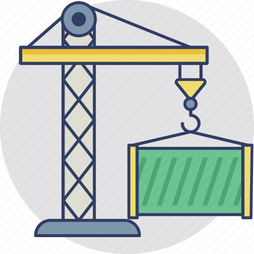 cargo container, consignment, logistics, shipment, storage container icon