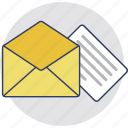 airmail, envelope, letter, mail, message icon