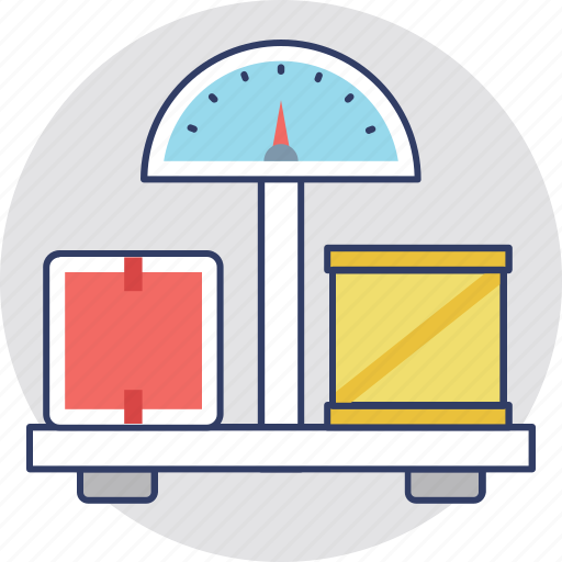 Electronic balance, industrial scale, weighing, weighing scale, weight watcher icon - Download on Iconfinder