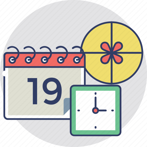 delivery schedule, delivery timetable, delivery timing, rapid delivery, shipping agenda icon