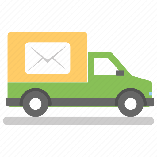 door to door delivery, express mail, mail delivery, mail services, postal services icon