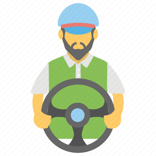conveyer, courier, dispatcher, driver, messenger icon