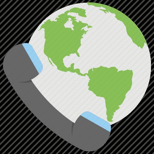 communication satellite, global communication, international call, international direct dialing, world communication icon