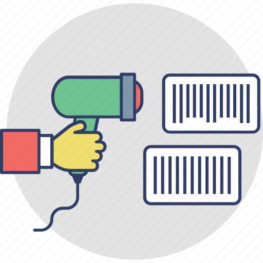 barcode scan, barcode search, magnifying, product scan, upc icon