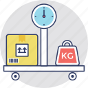 electronic balance, industrial scale, weighing, weighing scale, weight watcher icon