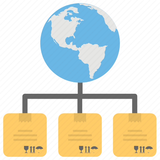 global logistic, global logistic system, logistic network, online logistic system, worldwide shipping network icon