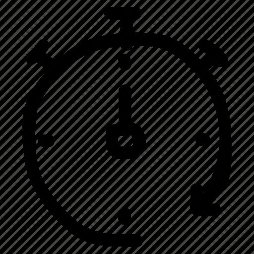 alarm, clock, stopwatch, time, watch icon