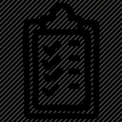 bill, checklist, menu, notepad, notes, paper, tips icon