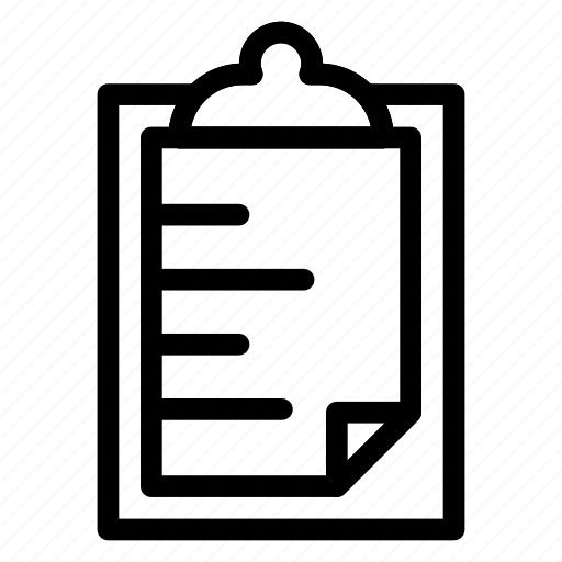 business, clipboard, design, edit, graphic, notepad, office icon
