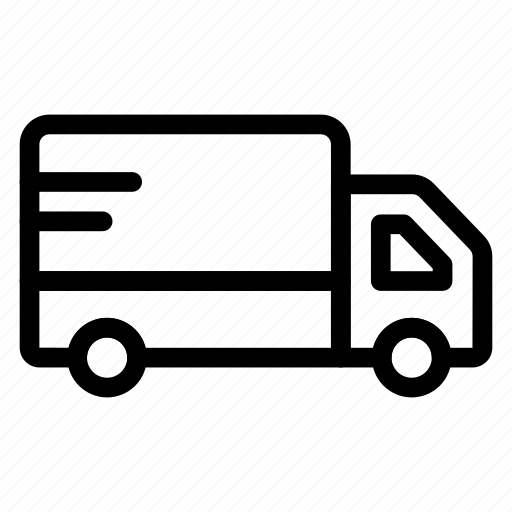 automobile, car, cargo, deliver, delivery, truck, vehicle icon
