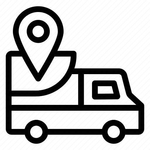 car, deliver, delivery, shipping, truck, van, vehicle icon