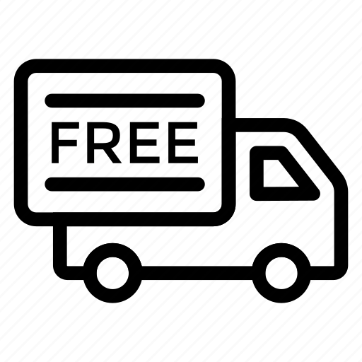 delivery, free, freeshipping, sale, shipping, truck, van icon