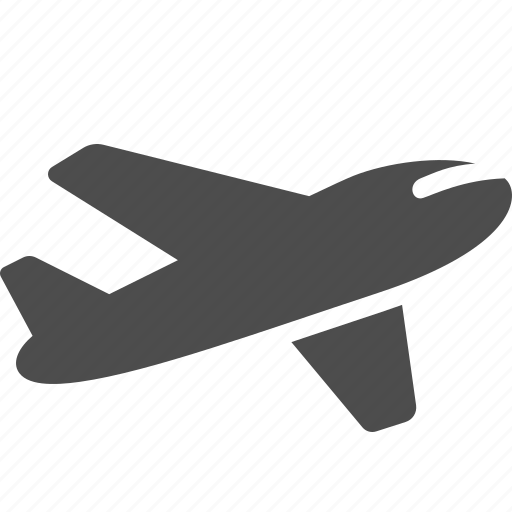 airplane, airport, delivery, flying, logistics, plane icon