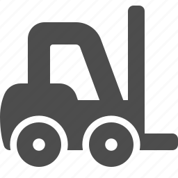 forklift, logistics, shipping, warehouse icon