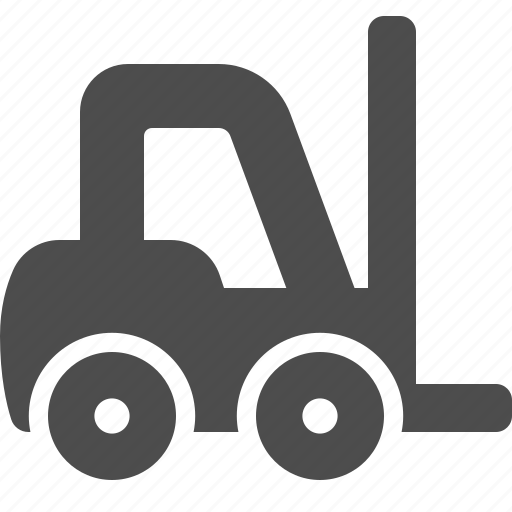 Forklift, logistics, shipping, warehouse icon - Download on Iconfinder