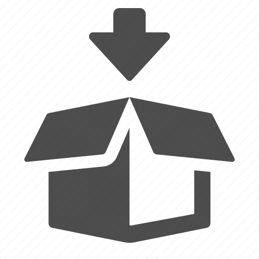 Box, logistics, add, crate, arrow icon - Download on Iconfinder