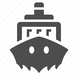 boat, cargo, container, delivery, ship, shipping, transportation icon