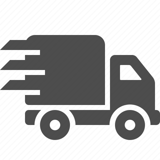 delivery, logistics, transportation, truck, vehicle icon