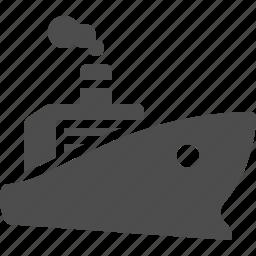 boat, cargo, cruise ship, delivery, logistics, ship, transportation icon