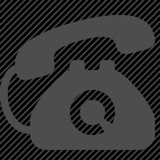 call centre, communication, customer support, landline, phone, ringing, telephone icon