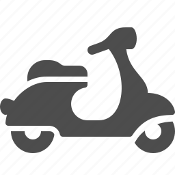 delivery, scooter, transportation, vehicle icon