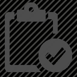 check list, check sign, clipboard, delivery, logistics, ok, verify icon
