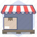 delivery, loading, logistics, packet, shipping, shop, shopping icon