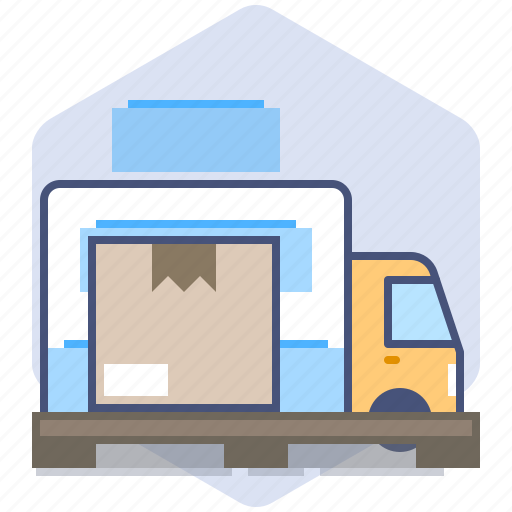 Car, courier, delivery, loading, logistics, packet, parcel icon - Download on Iconfinder