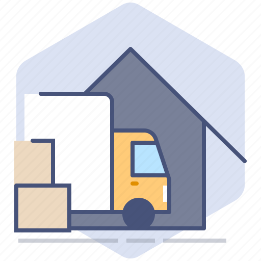 Car, courier, delivery, logistics, packet, parcel, truck icon - Download on Iconfinder