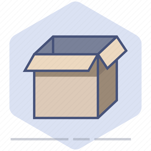 Box, delivery, logistics, open, package, packet, shipping icon - Download on Iconfinder