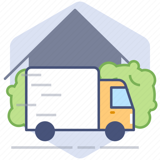 Car, courier, delivery, logistics, parcel, shipping, truck icon - Download on Iconfinder