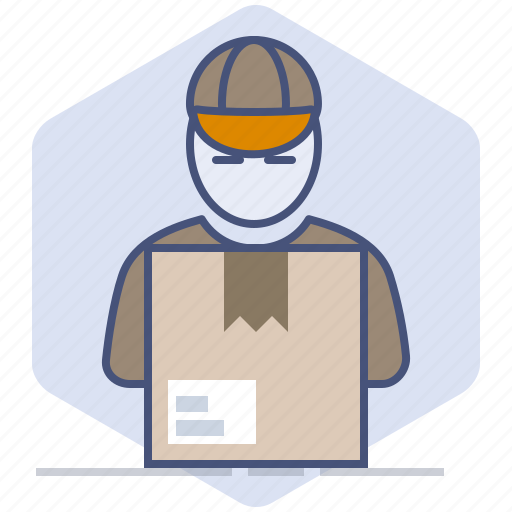 Courier, delivery, logistics, package, packet, parcel, shipping icon - Download on Iconfinder