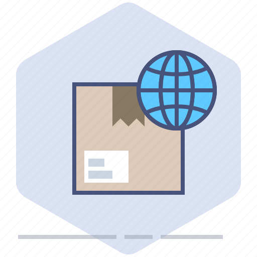 Box, delivery, logistics, package, packet, shipping, worldwide icon - Download on Iconfinder