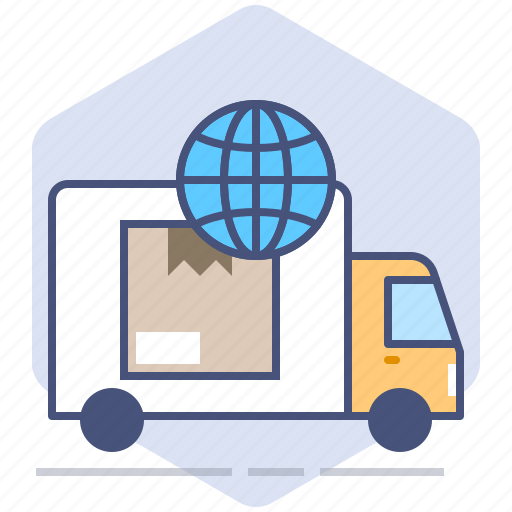 Car, courier, logistics, packet, shipping, tracking, worldwide icon - Download on Iconfinder