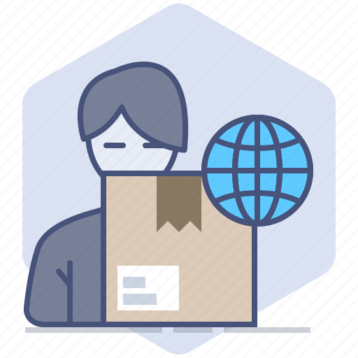 Customer, delivery, logistics, package, packet, shipping, worldwide icon - Download on Iconfinder