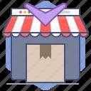 logistics, packet, return, shipping, shop, shopping, store