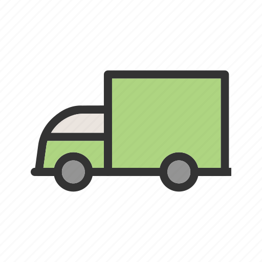 cargo, forklift, freight, loading, transportation, truck, vehicle icon