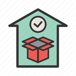 box, business, checklist, package, report, transportation icon