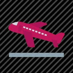airplane, cargo, flight, freight, jet, plane, private icon