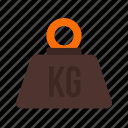 hook, kilogram, load, machine, needle, numbers, weight icon