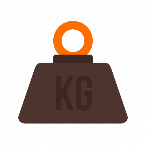 hook, kilogram, load, machine, needle, numbers, weight icon